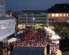 AOK Lauf Luedenscheid Laufveranstaltung Sponsoren Werbung LED-Fläche Videowall