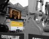 Firmenevent Caterpillar LED-Fläche Videowall