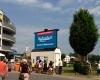 Hafenfest Bergkamen Marina Rünthe Sponsoren Werbung Programm LED-Fläche Videowall