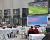 Public Viewing Fußball WM Weltmeisterschaft LED-Fläche Videowall