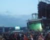 Rockkonzert Livebilder LED-Fläche Videowall