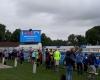 Biathlon Werl Laufveranstaltung Sponsoren Werbung LED-Fläche Videowall Zeitmessung Ergebnisse kleine Veranstaltung geringes Budget