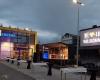Videowall LED-Fläche Eröffnung Edeka